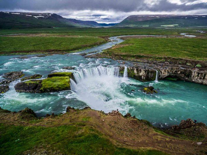Iceland by Drone Godafoss II