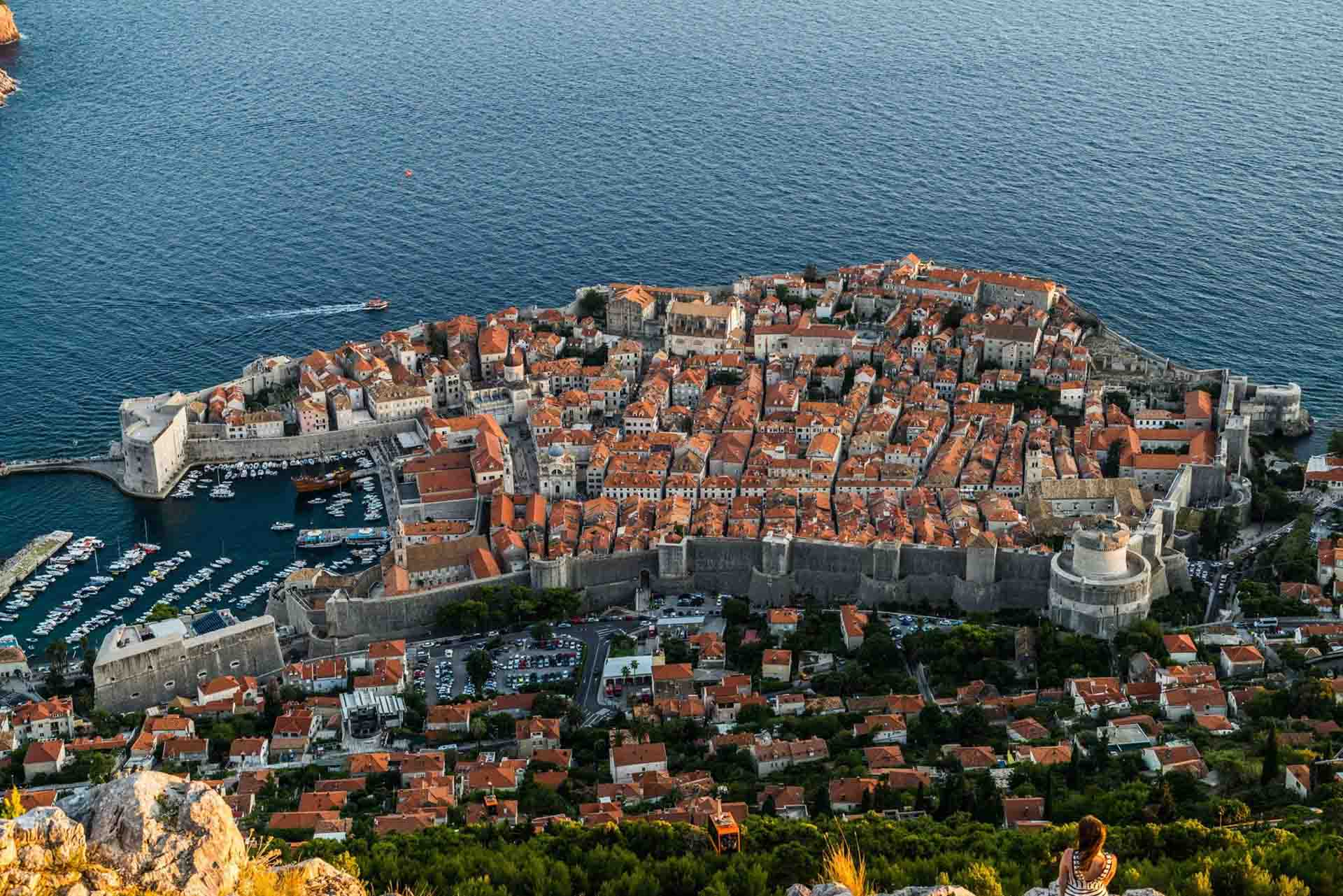 Croatia Dubrovnik from Panorama Restaurant, dubrovnik, croatia, pescart, photo blog, travel blog, blog, photo travel blog, enrico pescantini, pescantini