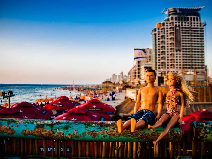 Barbie Around the World In Tel Aviv life is a beach