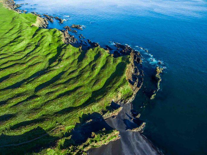 Iceland by Drone Djúpalónssandur Beach