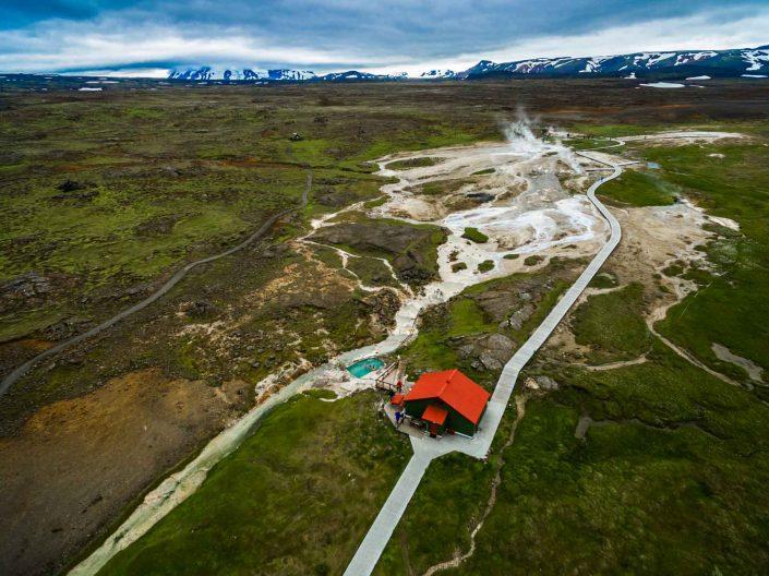 Iceland by Drone Hveravellir