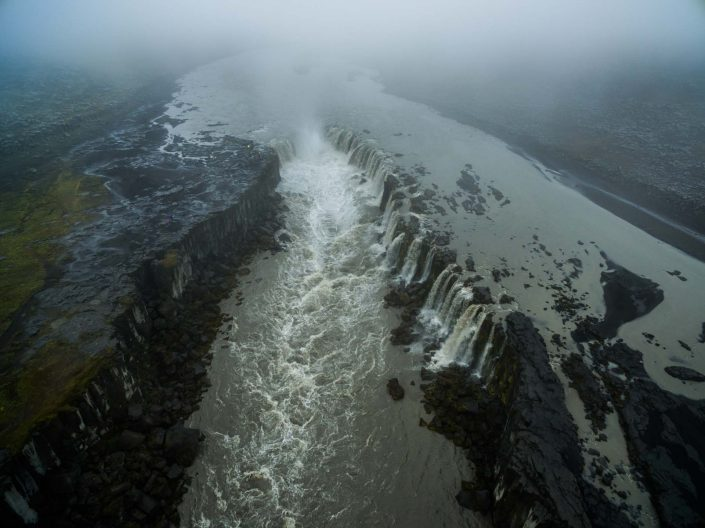 Iceland by Drone Dettifoss