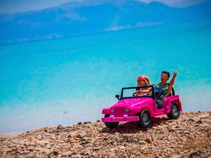 Barbie Around the World Take me to Ein Gedi
