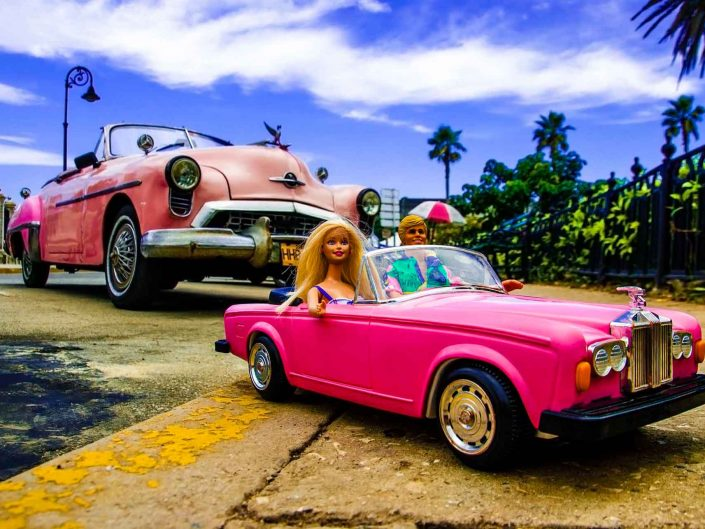 Barbie Around the World Malecon de Havana