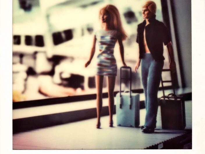 Barbie Around the World Polaroid Airport