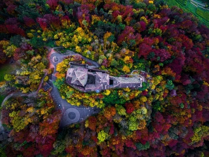 Stein Am Rhein Ice Climbing Aerial Photography Drone Enrico Pescantini