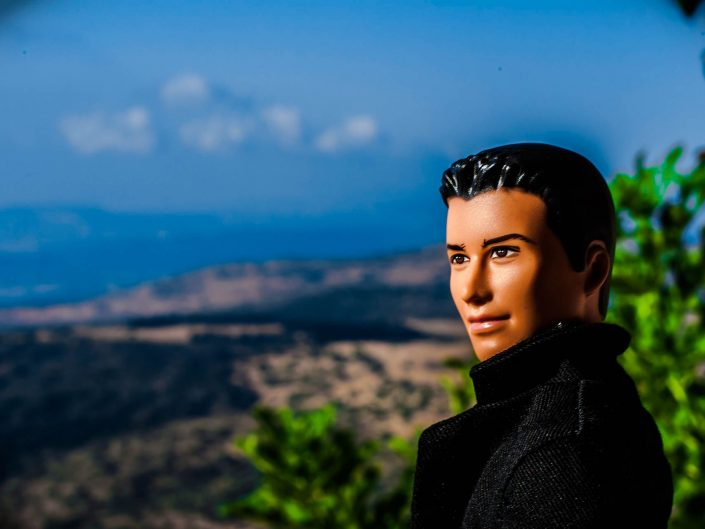 Barbie Around the World: Eyes on Golan Heights