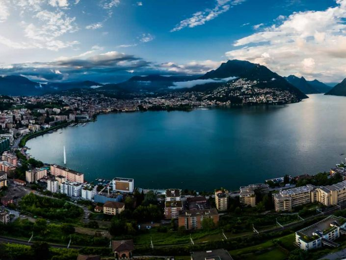 Aerial Photography: Lake of Lugano