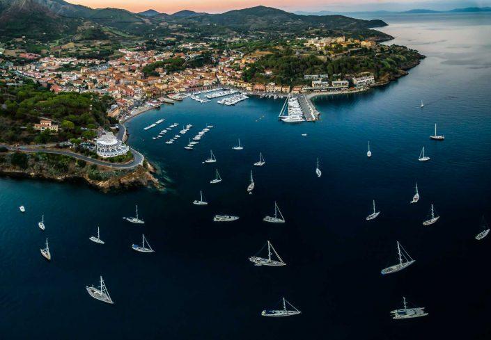 Aerial Photography: Porto Azzurro