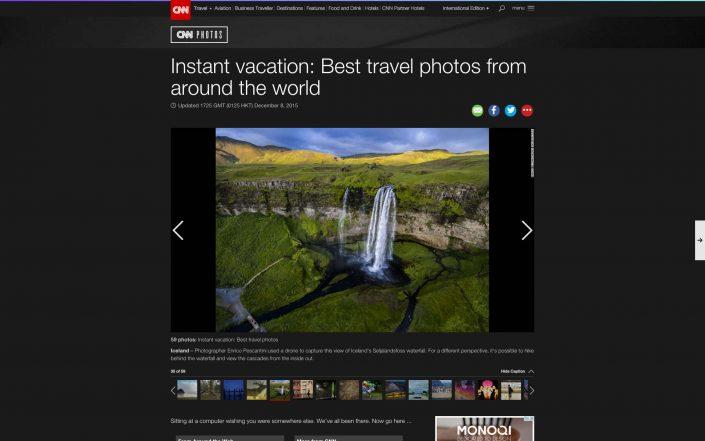 CNN Iceland by Drone