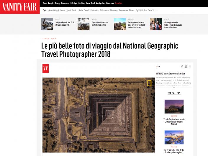 National Geographic Travel Photographer of the year 2018 Cities Winner Geometry of the Sun Enrico Pescantini VANITY FAIR ITALIA