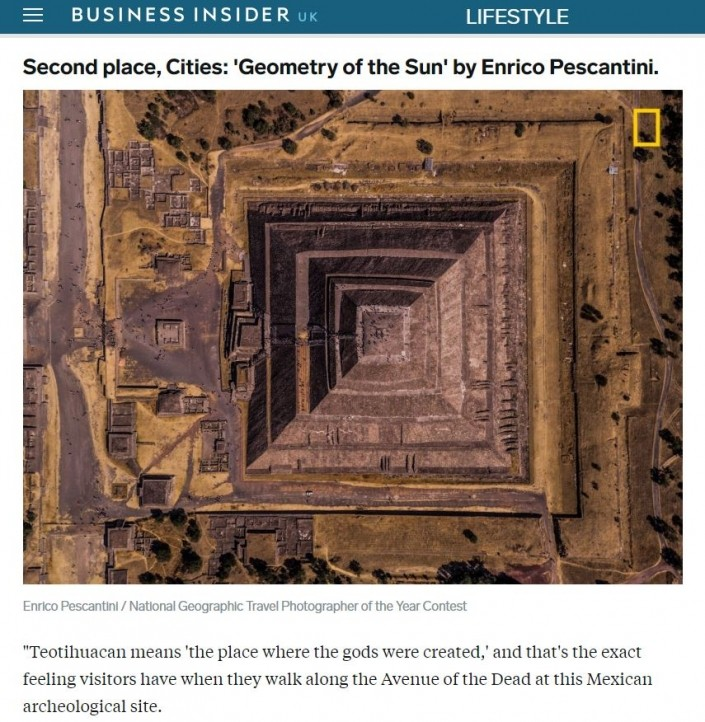 National Geographic Travel Photographer of the year 2018 Cities Winner Geometry of the Sun Enrico Pescantini BUSINESS INSIDER