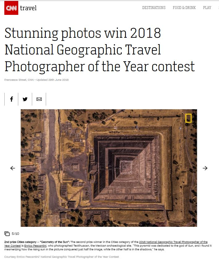 National Geographic Travel Photographer of the year 2018 Cities Winner Geometry of the Sun Enrico Pescantini CNN TRAVEL