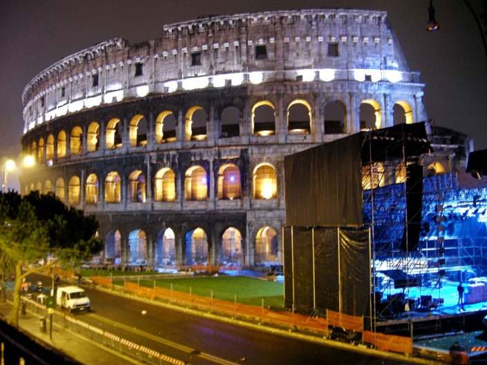 World PescArt Photo - COR COLOSSEUM, Rome. Italy
