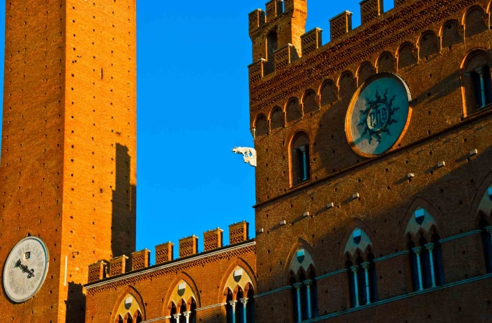 World PescArt Photo - La lupa nel Campo, Siena, Italy