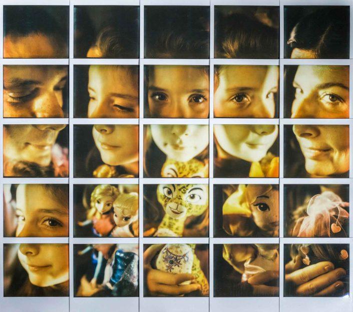 Polaroid Mosaic Montante Family