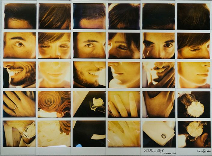 Polaroid Mosaic Giorgio and Irene