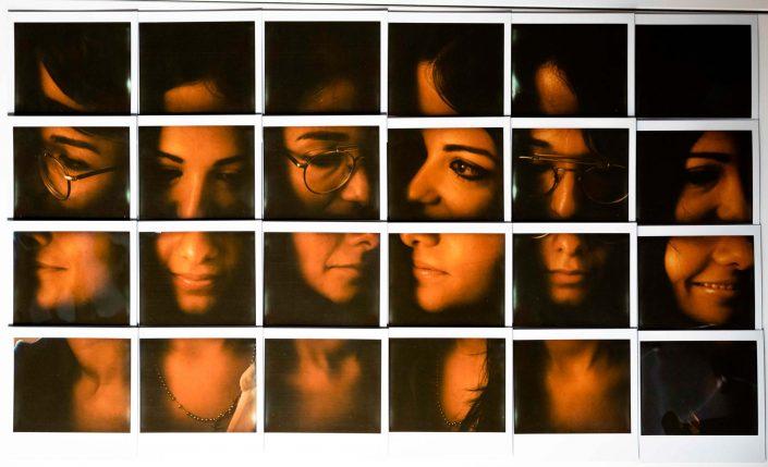 Polaroid Mosaic Guenda&Mina