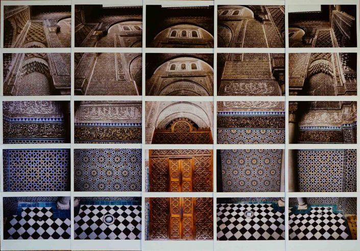Fes El Attarine Madrasa Fuji Mosaic