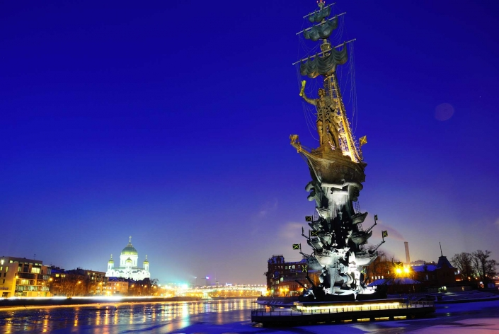 World PescArt Photo - Peter The Great VS Moscow, St.Petersburg, Russia
