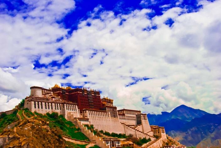 World PescArt Photo - Potala Palace, Lhasa, Tibet