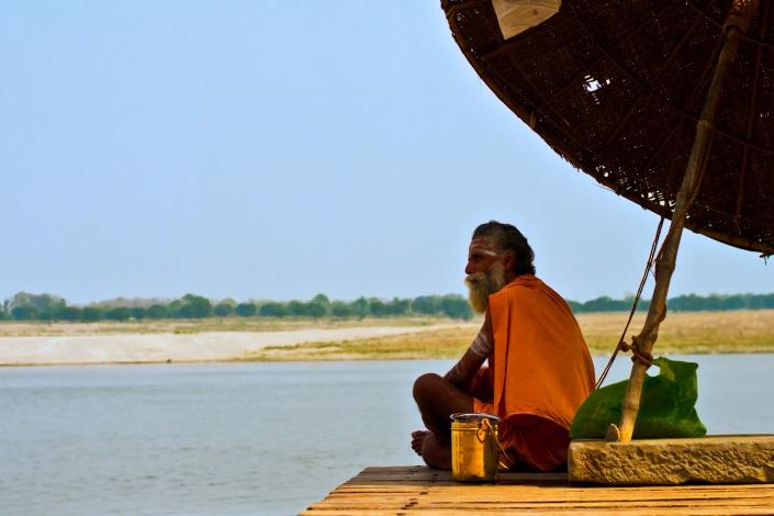 World PescArt Photo - RealBaba 1, Varanasi, India
