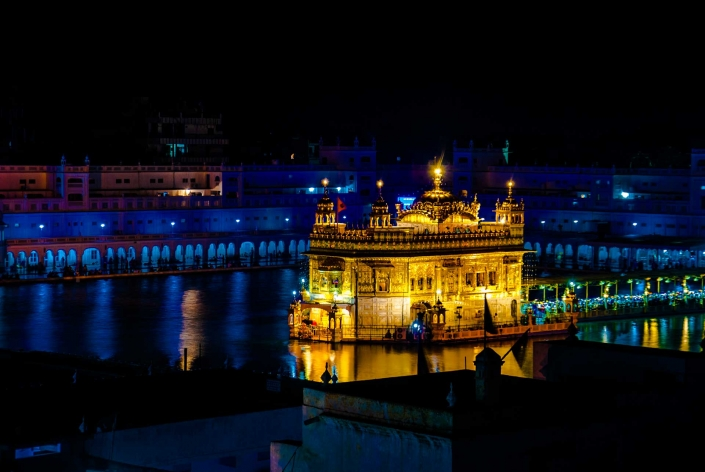 World PescArt Photo - Sikh Gold, Amritsar, India