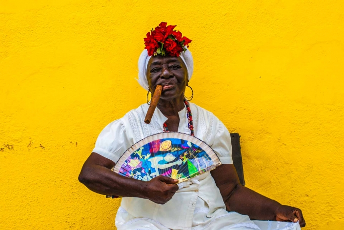 World PescArt Photo - The Cuban Stereotype, Havana, Cuba