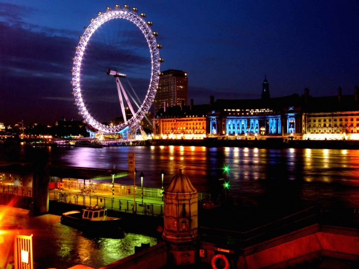 World PescArt Photo - The Eye of Thames, London, UK