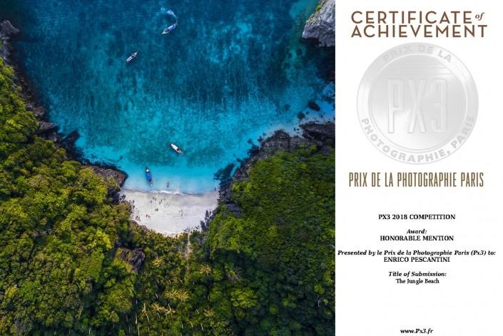 PX3 PRIX DE LA PHOTOGRAPHIE PARIS ENRICO PESCANTINI 2018