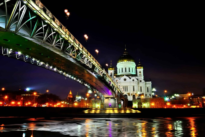 World PescArt Photo - Under the Bridge, Moscow, Russia