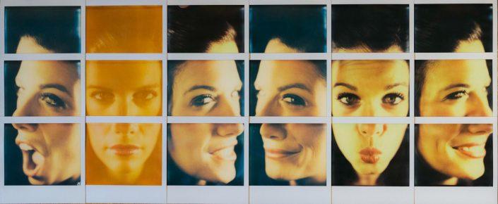Polaroid Mosaic Carlotta