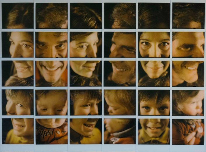 Polaroid Mosaic Fanti Family