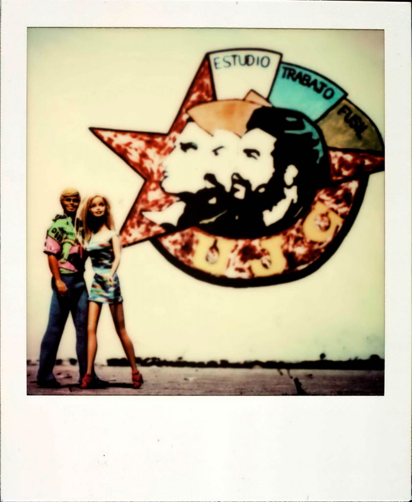polaroid_HAVANABarbie Around the World Polaroid Havana