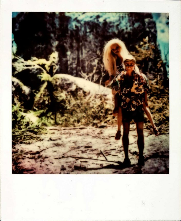 Barbie Around the World Polaroid La Gran Piedra