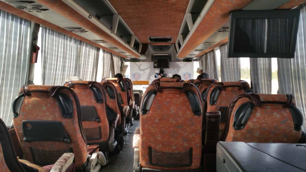 Tehran Kashan VIP bus, kashan, iran, pescart, photo blog, travel blog, blog, photo travel blog, enrico pescantini, pescantini