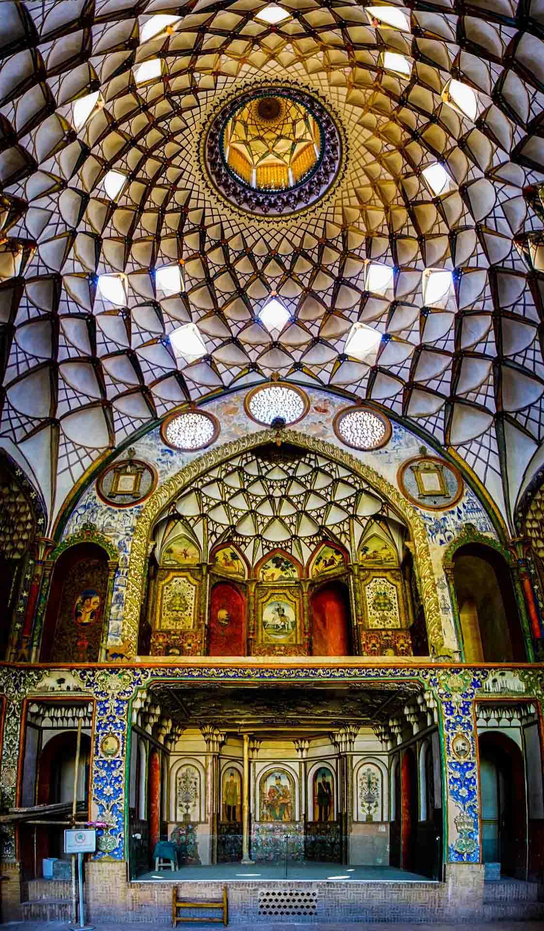 Borujerdi Historical House 1, kashan, iran, pescart, photo blog, travel blog, blog, photo travel blog, enrico pescantini, pescantini