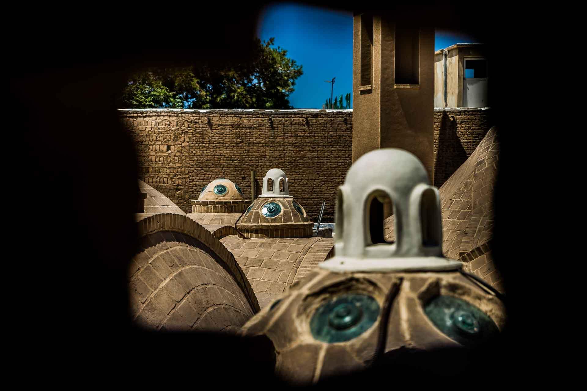 Sultan Amir Ahmad Bathhouse roof, kashan, iran, pescart, photo blog, travel blog, blog, photo travel blog, enrico pescantini, pescantini