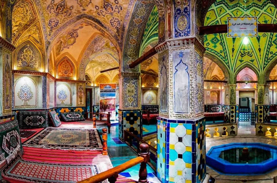 Iran – Kashan: merchants historical houses and best hammam of Iran