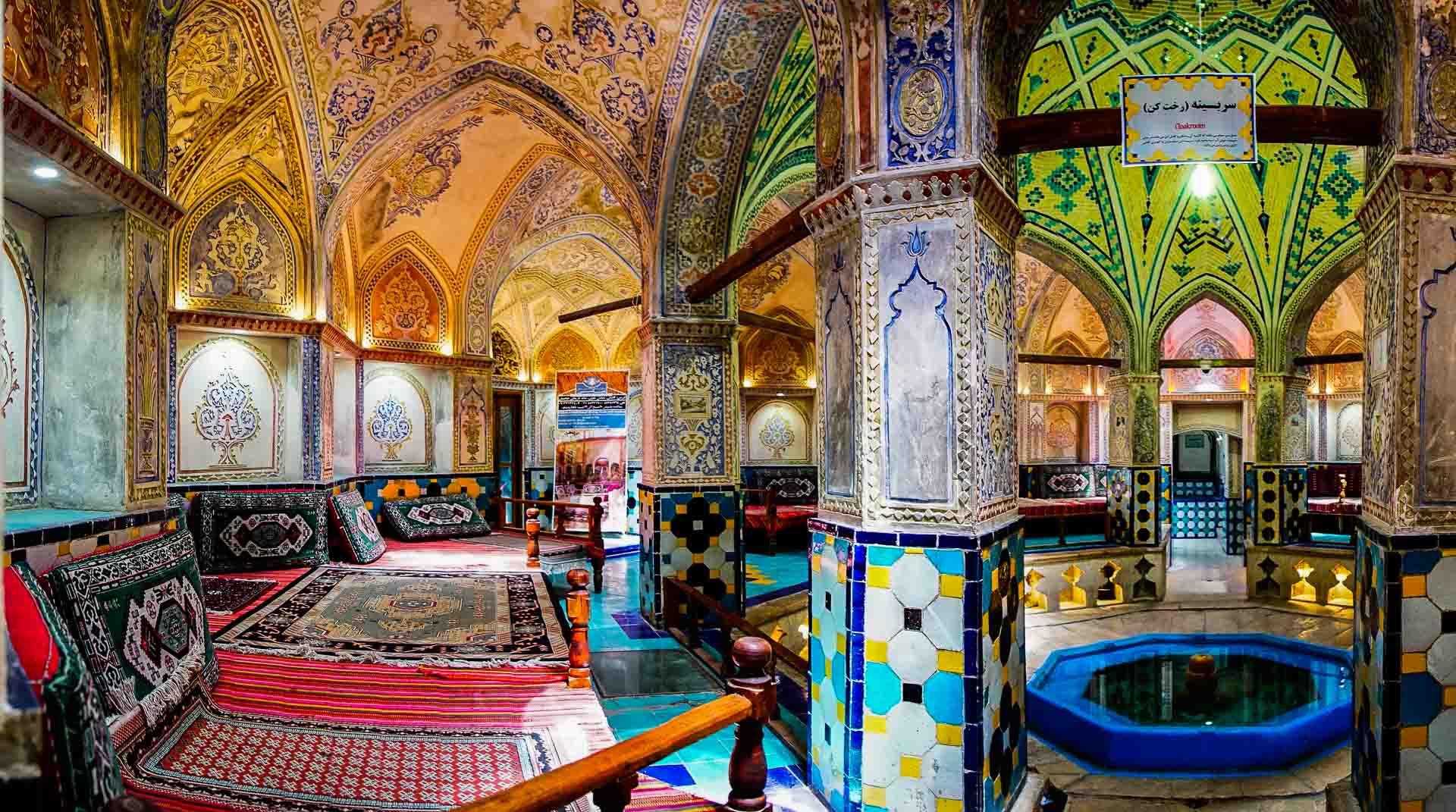 Sultan Amir Ahmad Bathhouse main room, kashan, iran, pescart, photo blog, travel blog, blog, photo travel blog, enrico pescantini, pescantini
