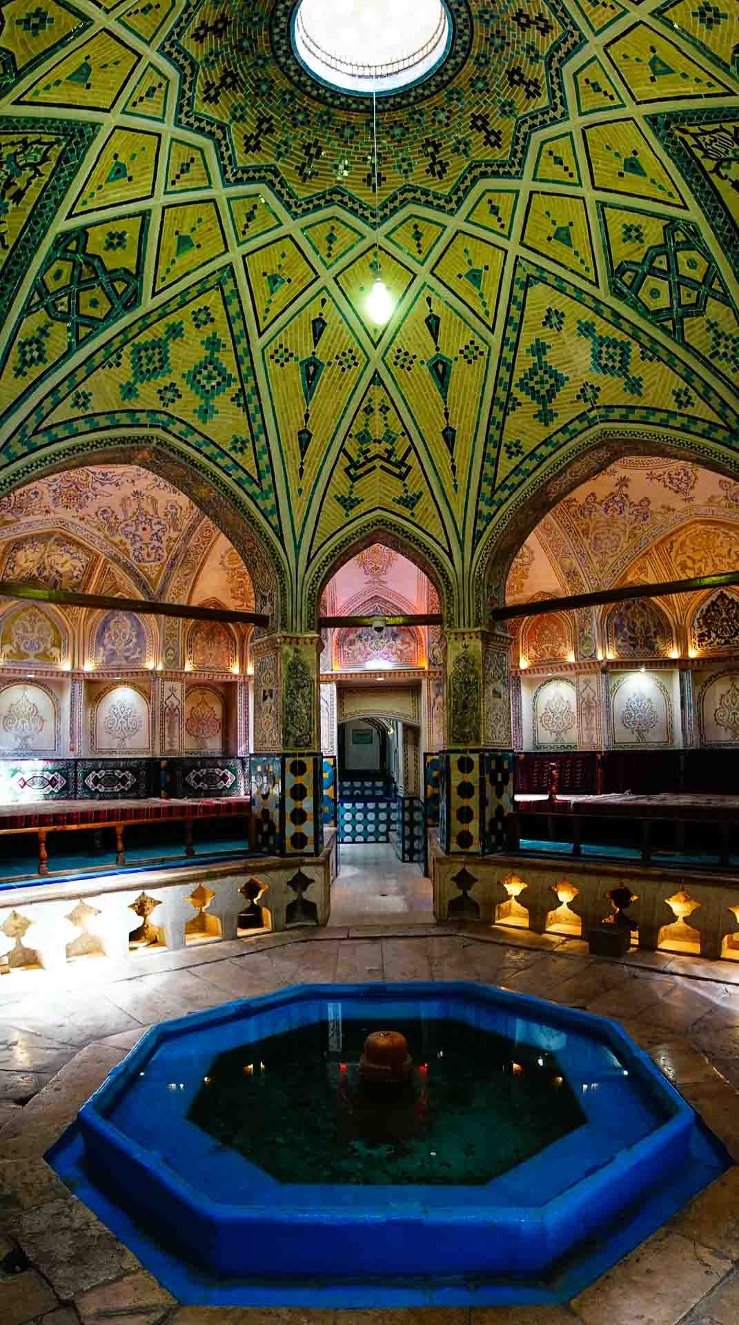 Sultan Amir Ahmad Bathhouse inside 2, kashan, iran, pescart, photo blog, travel blog, blog, photo travel blog, enrico pescantini, pescantini