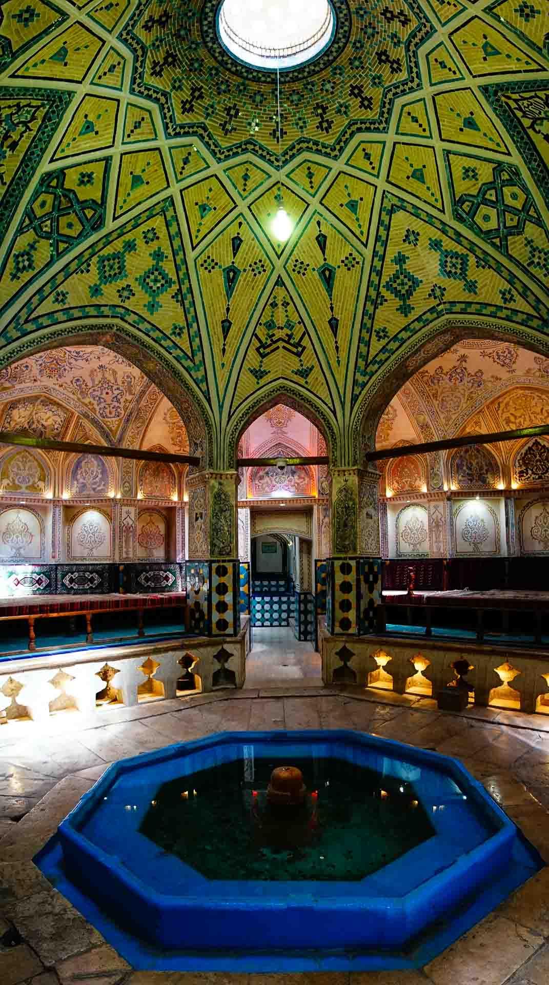 Sultan Amir Ahmad Bathhouse inside 2, kashan, iran, pescart, photo blog, travel blog, blog, photo travel blog, enrico pescantini, pescantini