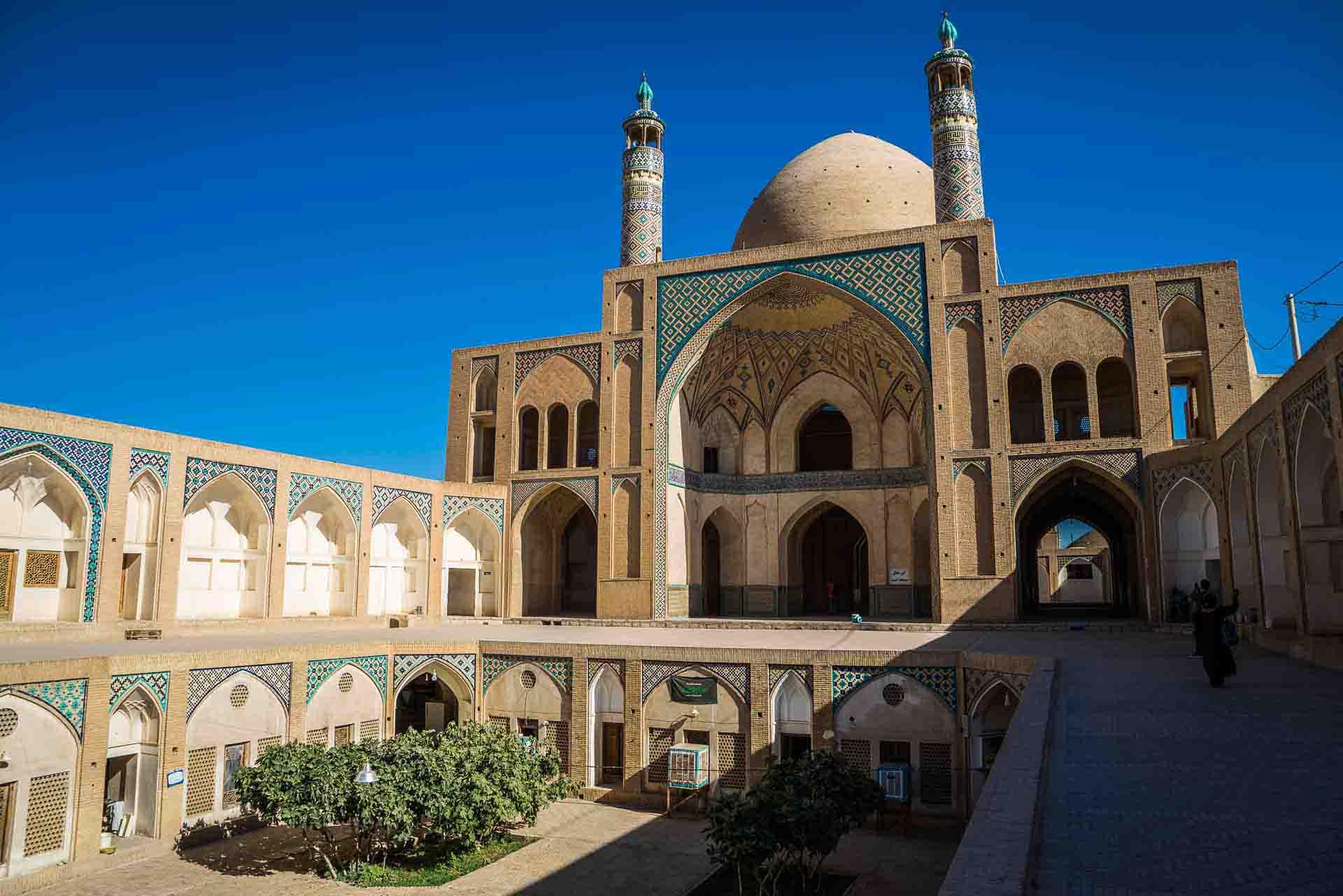 Agha Bozorg mosque, kashan, iran, pescart, photo blog, travel blog, blog, photo travel blog, enrico pescantini, pescantini