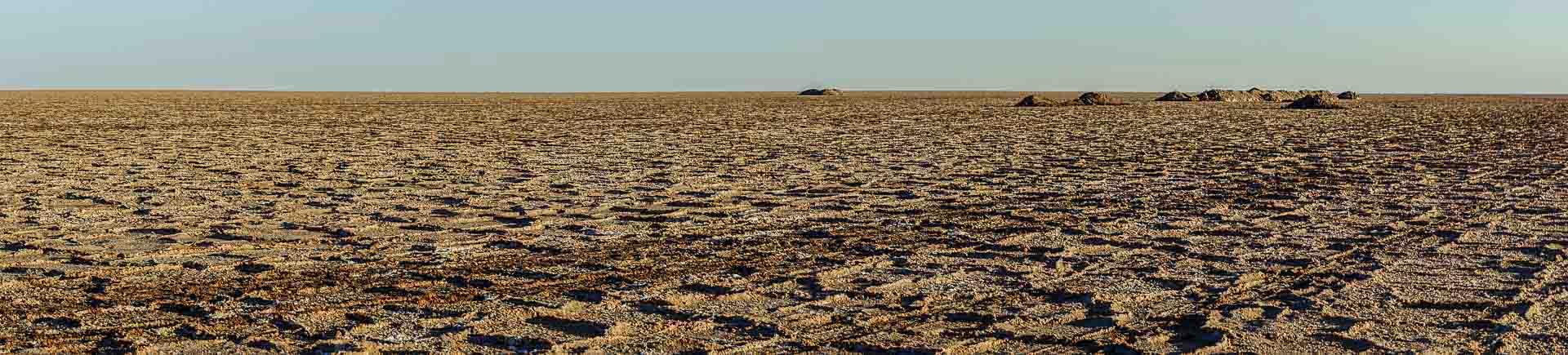 Maranjab Desert Salt Lake
