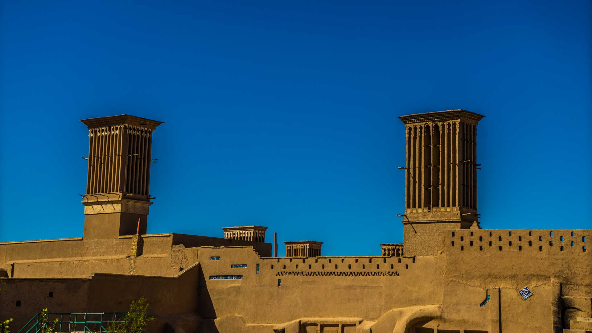 Yazd Windcatcher towers