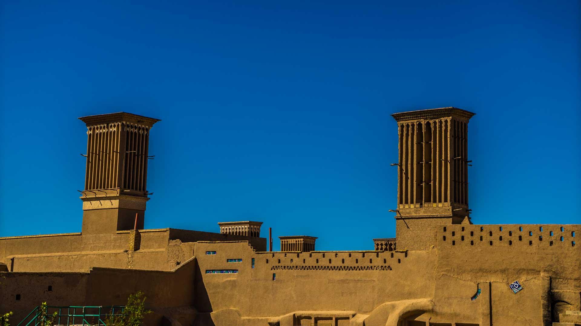 Yazd Windcatcher towers