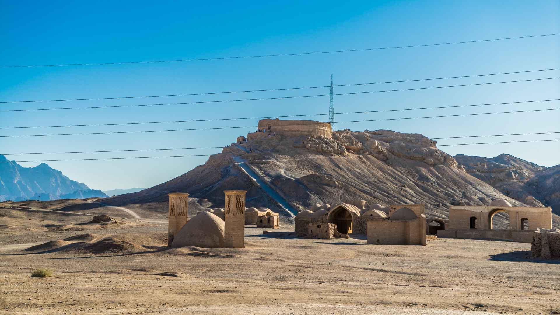 Yazd Zoroastrian Towers of Silence 3