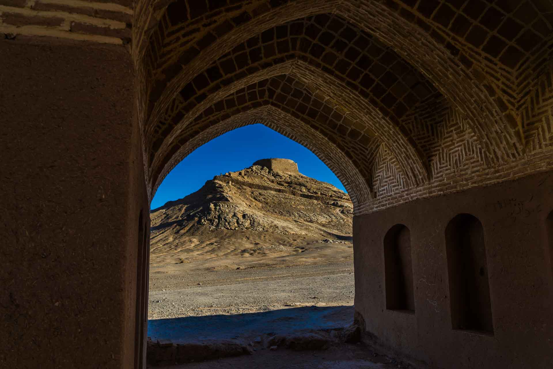 Yazd Zoroastrian Towers of Silence 5