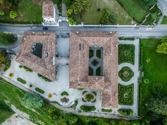 Villa Negroni 3 - fotografie con drone per settore immobiliare