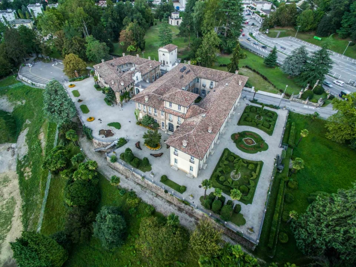 Villa Negroni 1- fotografie con drone per settore immobiliare
